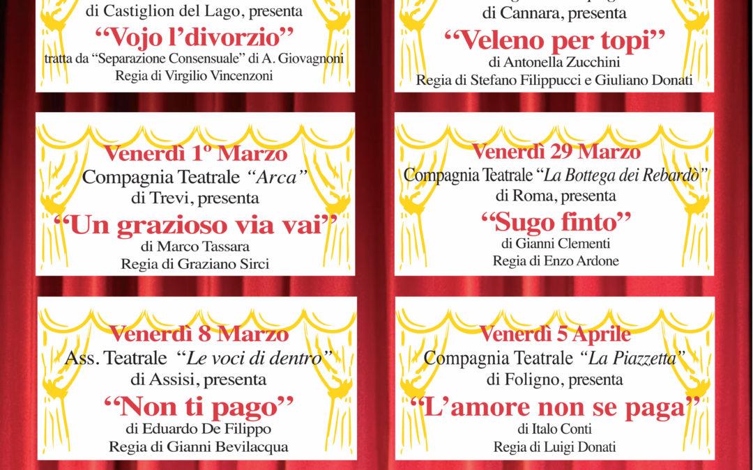 9° Festival di Teatro Brillante dal 22 febbraio al 12 Aprile